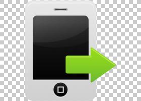 智能手机手机配件电子设备小工具,智能手机通话发送PNG剪贴画电子
