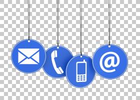 电子邮件手机电话互联网,关于我们PNG剪贴画杂项,蓝色,电话,客户