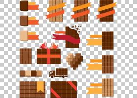 17平方巧克力设计PNG剪贴画爱,角度,食品,生日快乐矢量图像,丝带,