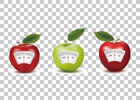 称重秤,Creative Apple Weighing PNG剪贴画食品,电脑壁纸,绿苹果