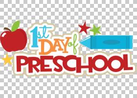 学前Keller小学第一天上学幼儿园,学前通讯的PNG剪贴画儿童,食品,