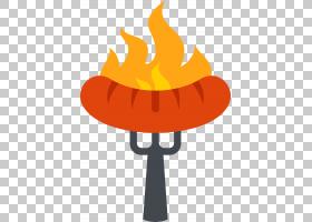 Churrasco香肠烧烤火腿街食品,烧烤火腿肠PNG剪贴画帽子,橙色,猪