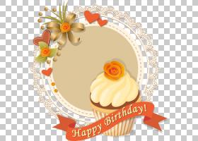 巧克力冰淇淋生日蛋糕冰淇淋蛋筒,蛋糕标签PNG剪贴画奶油,食品,烘
