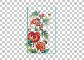 月,石榴花PNG剪贴画png材料,插花,食品,生日快乐矢量图像,花卉,水