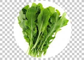 有机食品Eruca sativa蔬菜芝麻菜多年生墙,火箭,生菜PNG剪贴画叶