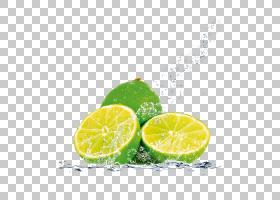 柠檬石灰饮料可乐,石灰飞溅PNG剪贴画食物,柑橘,波斯石灰,水果,柠