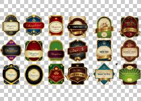 标签食品包装Logo,Phnom Penh,多种奖牌标签材料PNG剪贴画功能区,
