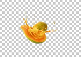 果汁青木瓜沙拉水果牛奶,木瓜PNG剪贴画食品,橙色,电脑壁纸,青木