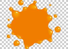 Paint Logo,Orange Splat的PNG剪贴画水彩画,食物,颜色,线,橙色Sp