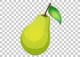 梨超级食物减肥食品,绿色与叶子,雪花,梨PNG剪贴画天然食品,水彩