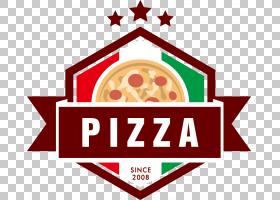 Pizza Logo Euclidean,Color logo material Pizza PNG clipart其