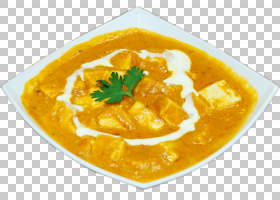 Shahi paneer印度菜Karahi Korma素食,Samosa PNG剪贴画奶油,食品