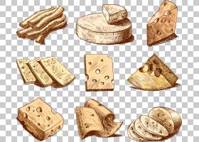 伊顿奶酪绘图,彩绘奶酪PNG剪贴画水彩绘画,食品,奶酪,手绘花卉,生