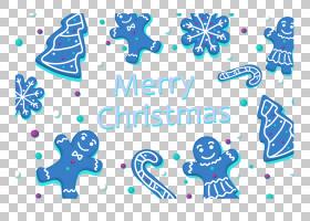 圣诞树模式,蓝色圣诞饼干节日元素PNG剪贴画蓝色,文本,徽标,圣诞