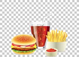 汉堡热狗快餐薯条芝士汉堡,蟹堡包PNG剪贴画食品,动物,番茄,番茄
