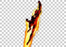 人类火炬钢铁侠美国队长蜘蛛侠超级英雄,人类火炬透明PNG剪贴画虚