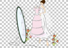 镜子,美容镜PNG剪贴画家具,摄影,虚构人物,封装的PostScript,鲜花