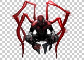 高级蜘蛛,男子奥托Octavius蜘蛛博士,诗歌钢铁侠,铁蜘蛛侠透明PNG
