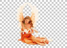 天使雕像,大陆天使雕像PNG剪贴画摄影,橙色,虚构人物,女人,封装的