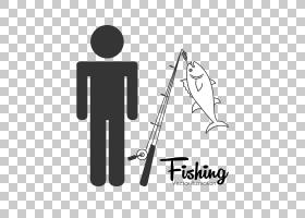 股票图标,人物剪影和钓鱼杆PNG剪贴画角度,文化,麦克风,文本,徽标