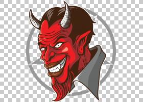 妖魔鬼,魔鬼可怕PNG剪贴画头,虚构人物,恐怖,封装的PostScript,眼