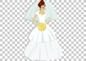 当代西方婚纱礼服T,衬衫新娘,女性穿着婚纱PNG剪贴画白色,假期,婚