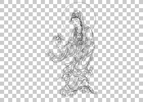 观音藏传佛教Buddharupa佛陀,佛教相关材料PNG剪贴画png材料,白色