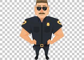 警察法官,英俊的警官PNG剪贴画T恤,人,海报,办公室,男孩,插画家,