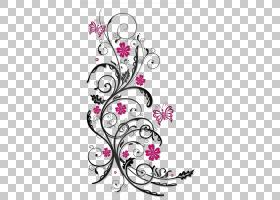 花卷须粉红色股票摄影,花饰PNG剪贴画紫色,插花,紫罗兰色,分支,颜