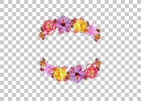 花圈花冠,花PNG剪贴画插花,发饰,洋红色,时尚配饰,粉红色,花瓣,自