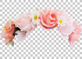 花花冠,花冠PNG剪贴画插花,头发配件,人造花,玫瑰订购,桃,花瓣,摄图片