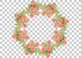 纸框架玫瑰花,桃花PNG剪贴画插花,叶,装饰,剪纸,人造花,圣诞装饰,图片