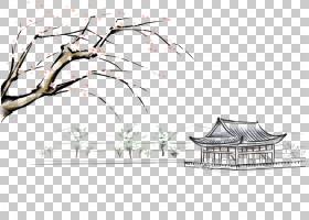 绘画,湖亭看花PNG剪贴画角度,矩形,摄影,景观,分公司,计划,房子,图片