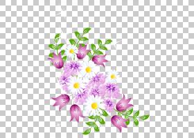 花,春天花装饰,白色和粉红色的花PNG剪贴画水彩画,紫色,插花,紫罗