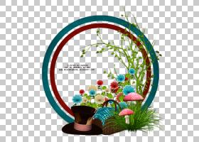 花卉设计7月电子邮件,爱丽丝梦游仙境PNG剪贴画标签,草,生物,自然