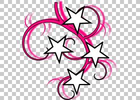 水手纹身航海明星,漩涡纹身设计PNG剪贴画紫色,文本,花,洋红色,免