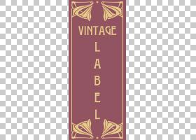 复古风格Adobe Illustrator,花形复古边框PNG剪贴画边框,框架,文