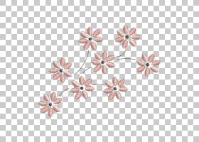 机绣花链绣花纹,acuarela PNG剪贴画针,pinterest,粉红色,花瓣,桃