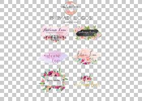 标志纸水彩画美甲品牌,婚礼,各种颜色预制徽标拼贴PNG剪贴画会徽,
