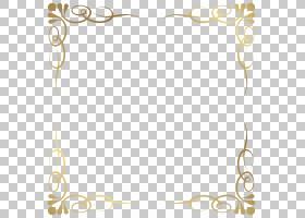 框架,透明装饰框架边框,黄色花卉框架PNG剪贴画剪贴画,边框框架,