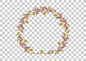 万圣节海报花环,美丽的花环PNG剪贴画边框,框架,cdr,叶,文本,装潢