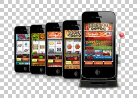 老虎机在线赌场移动赌博,大奖PNG剪贴画游戏,电子产品,小工具,展
