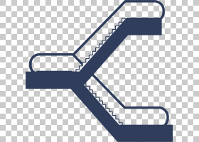 自动扶梯电梯楼梯欧几里德,上下两个自动扶梯PNG剪贴画角度,电子