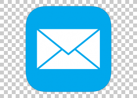 蓝色三角形区域文本,MetroUI其他邮件,消息图标PNG剪贴画蓝色,角