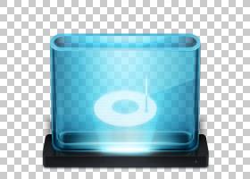 蓝色矩形塑料,烧PNG剪贴画蓝色,矩形,音乐下载,应用程序,塑料,音