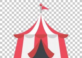 表情符号帐篷马戏团短信短信,嘉年华PNG剪贴画节假日,贴纸,表情符