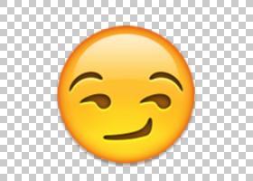 表情符号社交媒体短信电子邮件,表情符号面对PNG剪贴画笑脸,表情