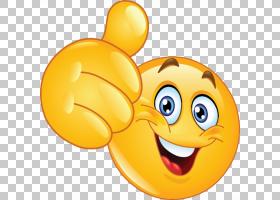 表情符号表情笑脸像按钮拇指信号,双倍幸福PNG剪贴画计算机图标,