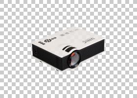 视频投影仪手持投影仪HDMI 1080p,全新家用LED迷你投影仪PNG剪贴