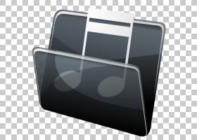 角度多媒体电子,惠普音乐文件夹,蓝色背景PNG剪贴画上的音乐徽标